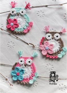 flores a crochet tutorial - Buscar con Google