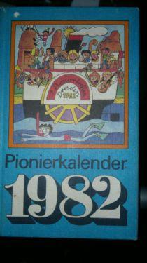 Kalender für Jungpioniere 1982, DDR-Kinderbuchverlag Berlin