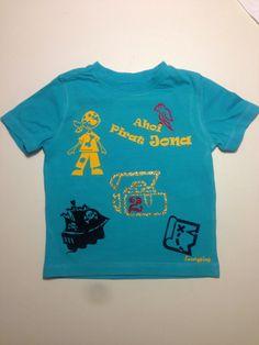 Unikat! Luxurypimp Geburtstags-T-Shirt Thema: Pirat