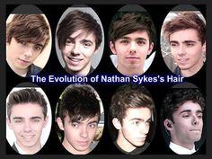 Nathan Sykes's hair