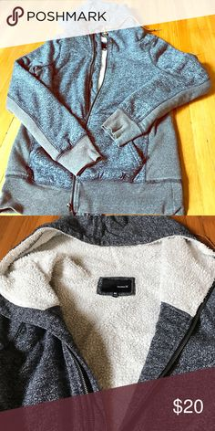 Hurley fleece sweater. Really warm! Really warm sweater. Just doesn't fit me anymore. Perfect for cold weather with the fleece lining! Hurley Sweaters