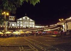 A party brewing in the Azores: Ponta Delgada