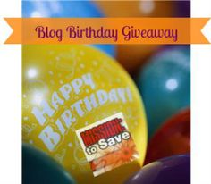Happy Birthday Mission to Save! You Get the Gift Coach Giveaway Grab Bag - Mission: to Save