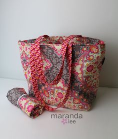 The Kate Diaper Bag Set with Changing Pad Large  by marandalee, $116.00