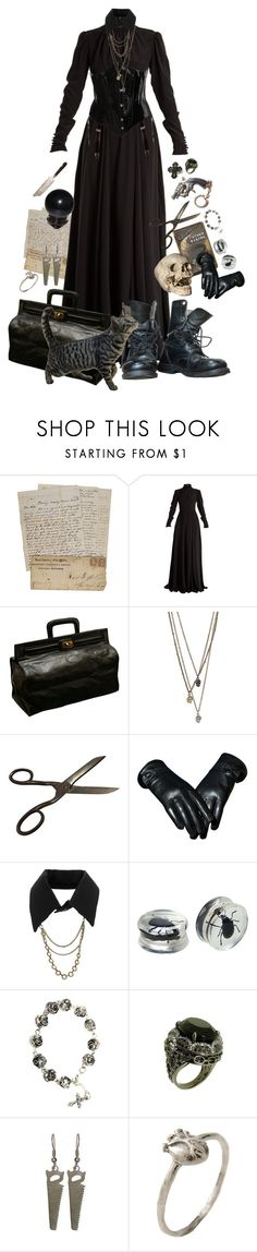 """xvi"" by ziouxsie ❤ liked on Polyvore featuring Rochas, Atsuko Kudo, Revolver, Hot Topic, Bjørg and Mineral"