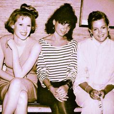 the JoBeth Williams recollection... - Molly Ringwald, Susannah Hoffs + Belinda Carlisle