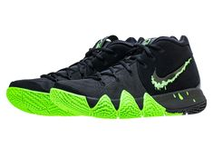 c8ad82a67baa06 Nike Kyrie 4 Color  Black Rage Green Style Code  943806-012 Release