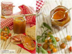 Confitura de tomates cherry a la vainilla