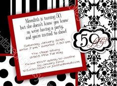 Busy Birthday Invitation  With or Without Photo  by kottageon5th, $17.00
