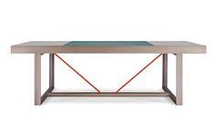 poseidon / dining table by MOYA Modern Design, Furniture Design, Dining Table, Coco Chanel, Tables, Desk, Home Decor, Homemade Home Decor, Diner Table