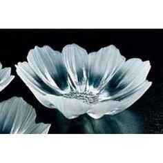 Crystal Anemone Bowl by Mats Jonasson