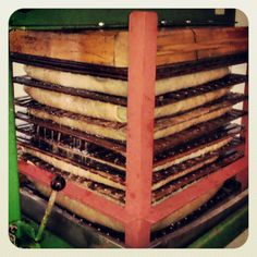 Our cider press hard at work turning lots of crisp Scottish apples into tasty Thistly Cross cider.