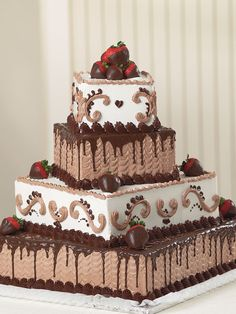 ANGEL WHAT ABOUT COMBINING THE WEDDING CAKE AND THE GROOM CAKE MAYBE 3-TIER Soul Mates