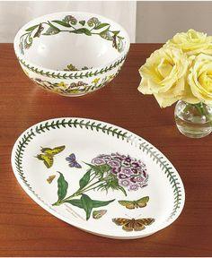 Portmeirion Dinnerware, Botanic Garden Collection