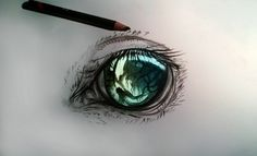 Horse eye by ryky.deviantart.com on @deviantART