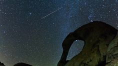 Video and Lesson Free Fleeting Light - Geminid Meteor Shower by Henry Jun Wah Lee / Evosia. A film shot in the High Desert of California -- the Alabama Hills, Eastern Sierras, Mount Whitney, and Joshua Tree -- during the Geminid Meteor Shower.