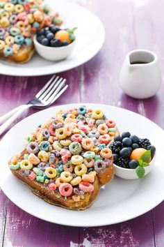 Fruit Loops French Toast