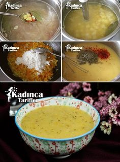 Elvan Girl Soup Recipe, How To? - Womanly Recipes - Delicious, Practical and Delicious Food Recipes Site Healthy Soup Recipes, Healthy Eating Tips, Healthy Nutrition, Healthy Drinks, Drink Recipes, Soup Beans, Tasty, Yummy Food, Recipe Sites