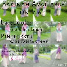 Sakinah avaliable only at facebook and pinterest