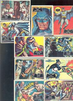 1960's Batman Cards.