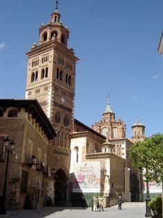 Teruel an article by Robert Bovington -  http://bobbovington.blogspot.com.es/2011/05/teruel.html photo: Teruel Cathedral