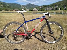 2013 Ritchey Logic P-275 steel hardtail 650B mountain bike