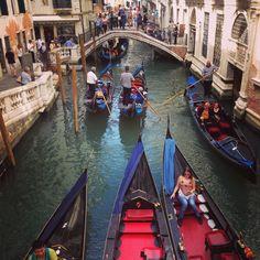 Traffico a Venezia!