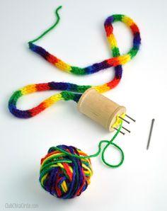 DIY: spool knitter