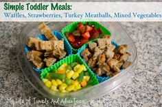Simple & Easy Toddler Meal Ideas