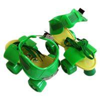 Fashion Adjustable Quad Roller Skates Beginner Skating Playing Training Shoes…