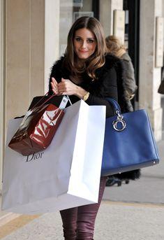The Olivia Palermo Lookbook : Olivia Palermo shopping in Paris