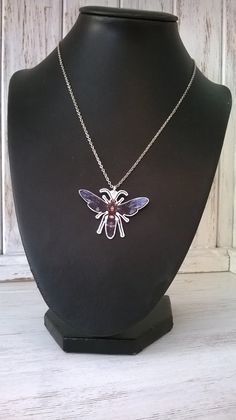 Wasp Handmade pendant on an 18 silver by thomaschadwickdesign, £10.00