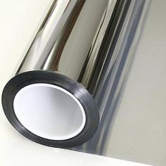 One Way Reflective Daytime Privacy Mirror Window Film All Silver 5 36in x12ft #ad