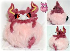 You only wish you got sass like this fluffy can-can dragon slayer~ Anyway, here's a plushie of Aromatisse, one of the most, um, controversial Pokemon from this generation. OK, it's probably one of ...