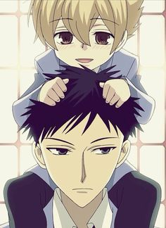 Honey and Mori from Ouran Highschool host club