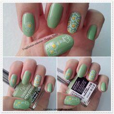Unghiutze colorate-Happy nails: Margarete......pentru fete....
