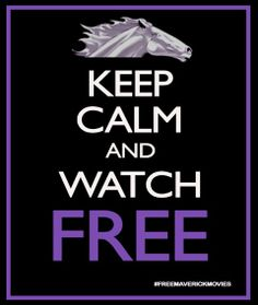 Keep Calm and watch free movies! Follow Free Movie Friday on the Maverick Movies Facebook page.