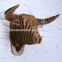 2015 new hot wood MDF knock-down diy interior decoration of deer head, View interior decoration items, EVER CREATION Product Details from Jilin Province Ever Creation Technology Co., Ltd. on Alibaba.com