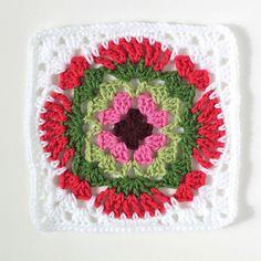 Lacy Granny Square by Signed With an Owl, via Flickr