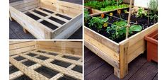 Pallet Planter Box - DIY Backyard Ideas on a Budget for Summer - Click for Tutorial