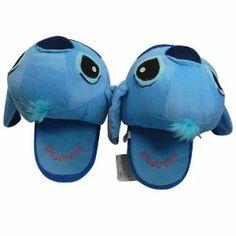 Blue Lilo Stitch Soft Stuffed Plush Slipper Toy For Disney Doll Cartoon Collect Lilo And Stitch 3, Cute Stitch, Funny Slippers, Soft Slippers, Disney Slippers, Disney Shoes, Disney Dolls, Thing 1, Pics Art