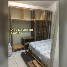 Closet de paletes Pedidos 92991945468 #decoração  #paletes #sustentabilidade