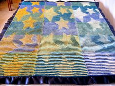Star Illusion Blanket by Katie Ahlquist
