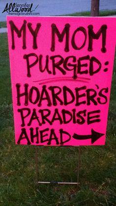 1000 Ideas About Garage Sale Signs On Pinterest Yard