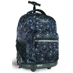 Back To School ~  J World Sunrise Rolling Backpack - Purchased for Faith!