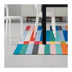 HALVED Rug, flatwoven, handmade multicolor