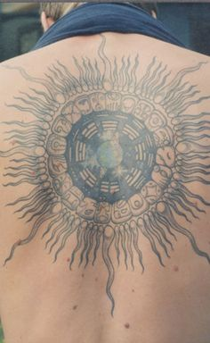An example of a Mayan tzolkin tattoo design - gorgeous!
