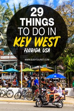 Wondering what to do in Key West FL? This travel guide will show you the top attractions best activities places to visit & fun things to do in Key West Florida. Start planning your itinerary and bucket list now! hotel restaurant travel tips # Florida Vacation, Florida Travel, Travel Usa, Florida Trips, Michigan Travel, Arizona Travel, Italy Vacation, Florida Food, Us Travel Destinations