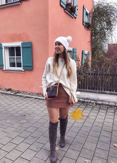 cozy autumn outfit   my week