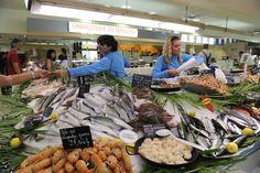 Marché couvert de Libourne ouvert tous les matins jusqu'à 13h sauf le lundi